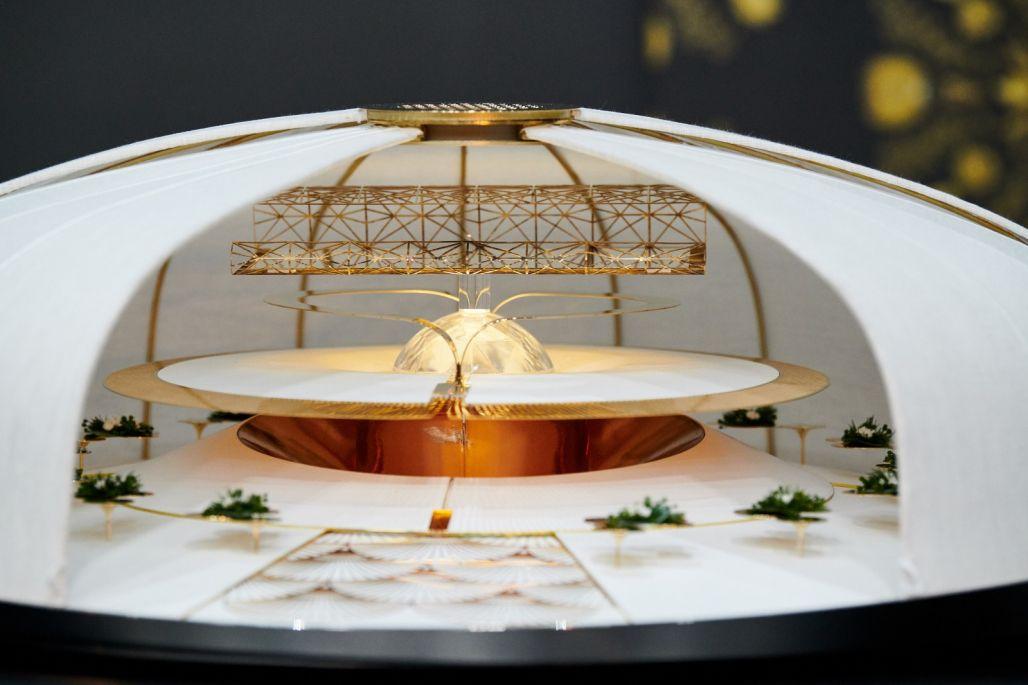 Xavier Salerio : Plateau pour le concours du Bocuse d'Or Monde 2021 - pour le chef Davy Tissot vainqueur 2021