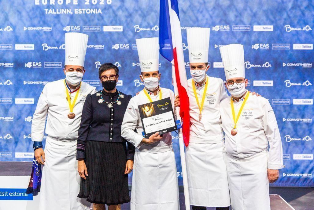 Xavier Salerio : Plateau pour le concours du Bocuse d'Or Europe