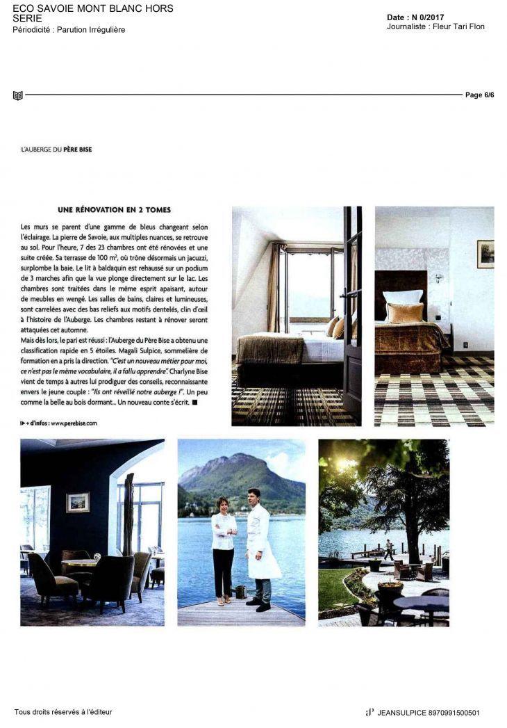 Xavier Salerio : Eco Savoie Mont Blanc Hors Série